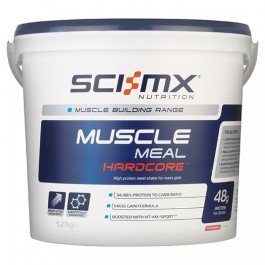 SCI-MX Nutrition Muscle Meal Hardcore - High protein meal shake for mass gain from Sci-MX
