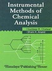 Instrumental Methods Of Chemical Analysis