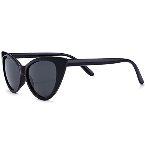 JAGENIE Women Small Cat Eye Sunglasses Sun Glasses Vintage Sexy Eyewear Shades UV400 1