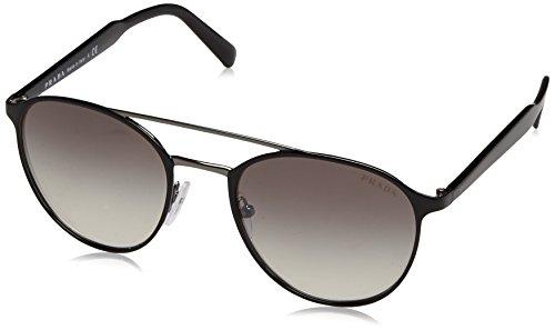 Prada Herren 0PR62TS 1AB4S1 54 Sonnenbrille, Schwarz (Black/Gunmetal/Grey Silver),