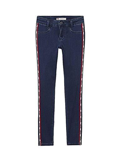 Jeans levis 710 blu indaco per bambina 2a blue