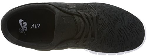 Nike Stefan Janoski Max, Chaussures de Skateboard Homme Noir (Black/black/white)