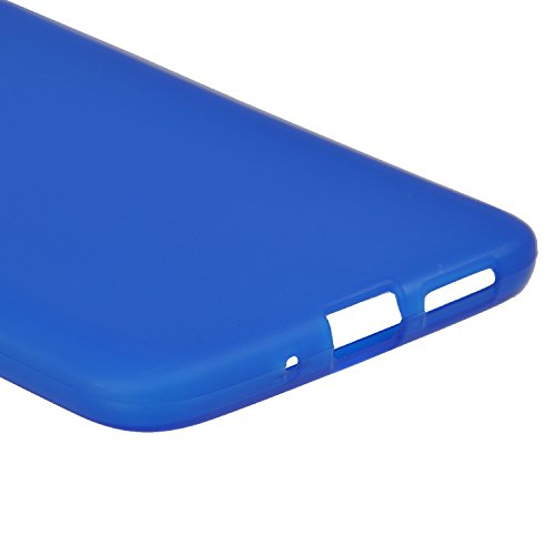 Apple iPhone 5SE Fall, IVSO Apple iPhone 5SE–Super hochwertiges TPU Case–Perfekt Kompatibel für Apple Iphone 5SE Handy, Kunststoff,  - schwarz, For APPLE iPhone 5SE - blau