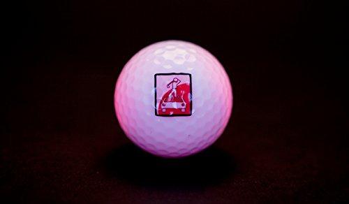 Leuchtender Golfball HOLZundEISEN - 3 Stück