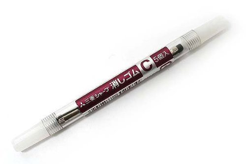 uni-mechanical-pencil-eraser-refill-c-skc-2piece-by-unknown