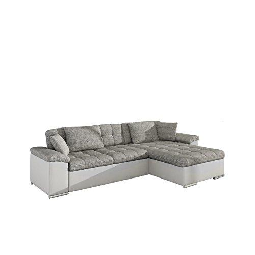 Großes Design Ecksofa Diana, Eckcouch mit Bettkasten und Schlaffunktion, Elegante Couch,...