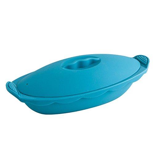 Quid Al Vapor - Vaporera oval para horno, 30 x 12...