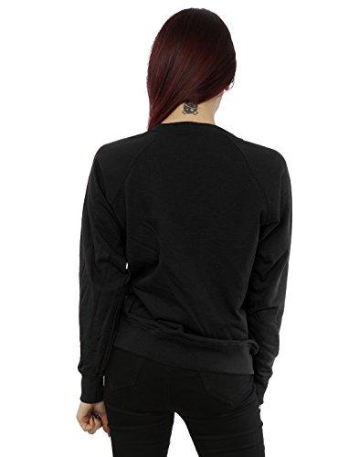 Rolling Stones Femme Tongue Christmas Sweat-Shirt Noir