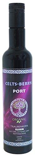 OPC Traubenkernextrakt Elixir BIO - Port 500ml CELTS-BERRY, Flüssig, Beste Bioverfügbarkeit, Vegan, Antioxidativ -