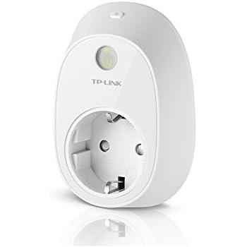 TP-Link HS110(EU) intelligente WLAN Steckdose (mit Verbrauchsanzeige und App Steuerung), funktioniert mit Amazon Alexa [Echo, Echo Dot] und Google Home, mit App Steuerung überall und zu jeder Zeit