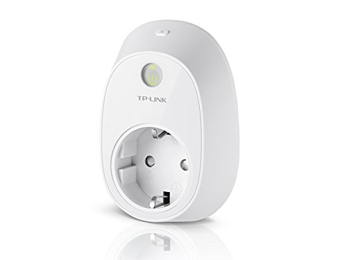 TP-LINK HS110 - Enchufe inteligente inalámbrico con monitorización de energía (funciona con la aplicación de automatización de TP-LINK KASA (Android y iOS), control inalámbrico vía TP-LINK Cloud)