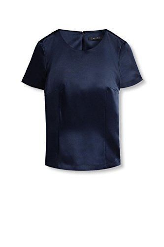 ESPRIT Collection Damen Bluse Blau (navy 400)
