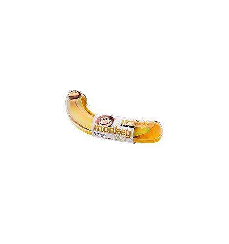 Joie 77711 Boîte de Banane, Plastique, Jaune, 22,9 x 8,3 x 4,4 cm