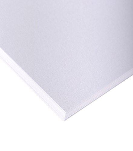 Clairefontaine 1686C Skizzenpapier (200 g, DIN A4, 21 x 29,7 cm, 250 Blatt, ideal für Künstler oder die Schule) weiß