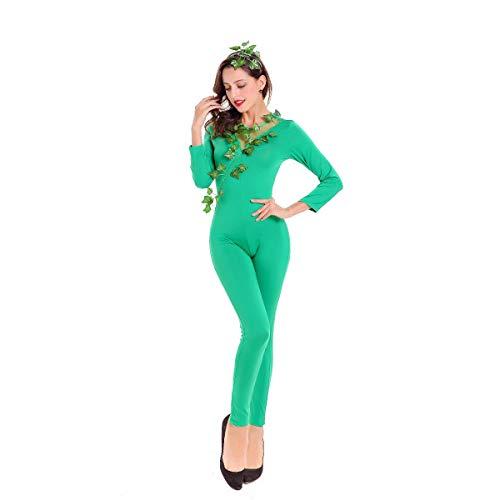 GAOJUAN Neue Halloween Cosplay Kostüm Erwachsene Cosplay Grün -