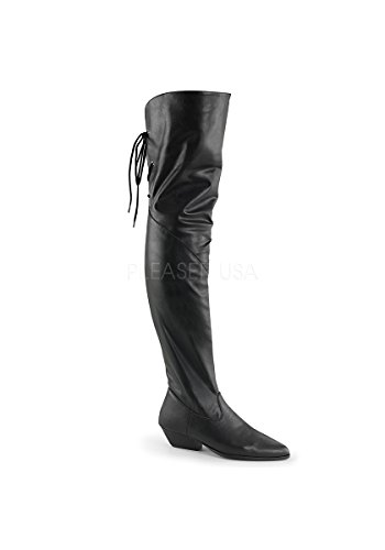RODEO-8822 Blk Faux Leather