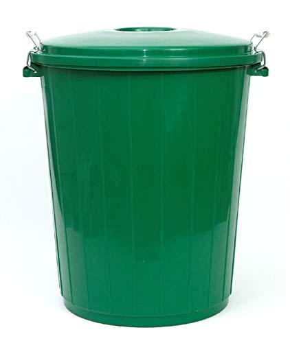 Pamex - Cubo de Basura 50L Colores (Verde)