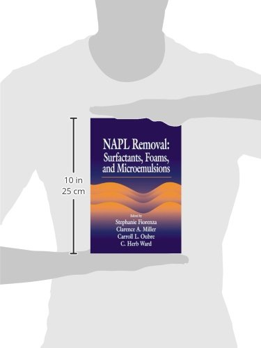 NAPL Removal Surfactants, Foams, and Microemulsions (AATDF Monograph Series)