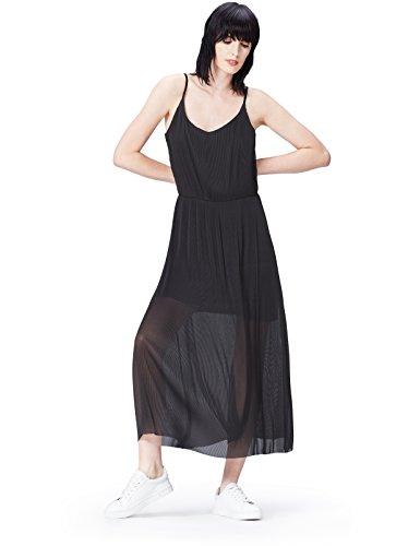 find. 70332 kleider, Mehrfarbig (Black), 40 (Herstellergröße: Large) -