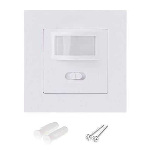 BIlinli Interruptor de luz de módulo de Pared Empotrado por Infrarrojos AC...