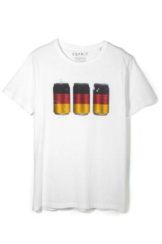 ESPRIT Herren T-Shirt Rundhals Mehrfarbig (COLOURWAY 2 114)