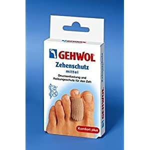 GEHWOL Zehenschutz, Zeh Druckschutz, Reibungsschutz zur Entlastung der Fußzehen