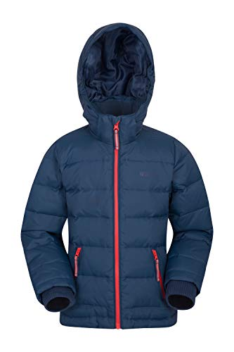 c39ca9644932ec Mountain Warehouse Frost Youth Down Padded Jacket Azul petróleo 7-8 Años