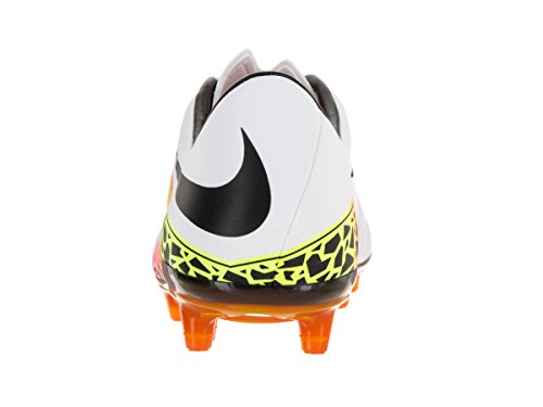 Nike Hypervenom Phatal II FG, Chaussures de Football Homme Blanc Cassé - Blanco (Blanco (White/Black-Total Orange-Volt))
