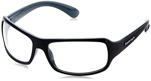 Fastrack Wrap Sunglasses (Black) (P117WH3)