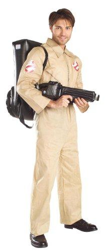 KULTFAKTOR GmbH Ghostbusters Kostüm Geisterjäger Lizenzartikel beige ()