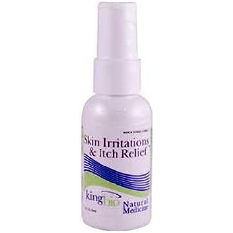 King Bio - Medicina Natural homeopática irritaciones de la piel y alivio del picor - 2 oz.