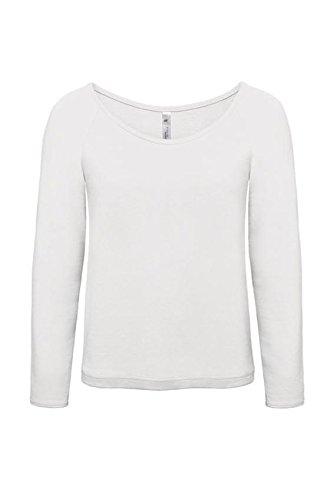 B&C Paradise - Sweat à capuche -  Femme Blanc - Blanc