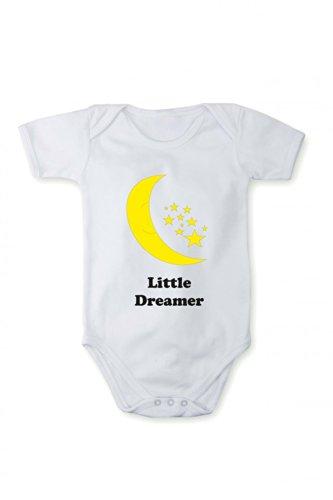 Romper baby bodysuit Little Dreamer In different languages