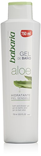 Babaria Aloe Vera Bath Gel Sensitive Skin 750ml
