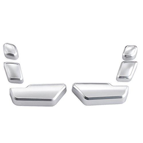 9 Lune Chrome Porte Ajuster Parfaitement Boutons commutateur d'assise pour Mercedes-Benz Classe E W212 218 CLS GL