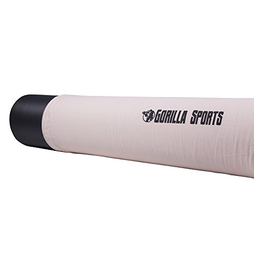 GORILLA SPORTS® Yogatasche mit Tragegurt Rosa - Matten-Bag aus Baumwolle 190 x 100 cm