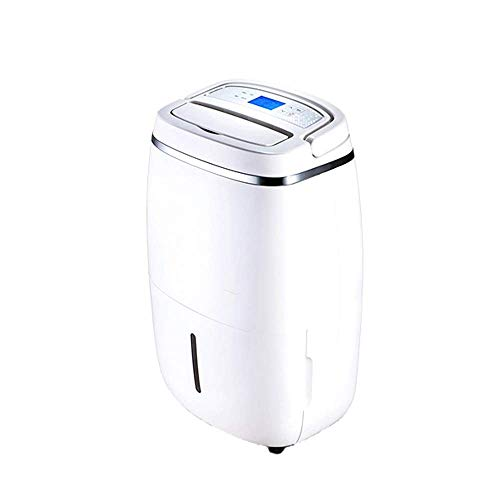 31Gtkomv8ZL. SS500  - Dsnmm Dehumidifier Touch Button, Full Water, Automatic Shutdown, Automatic Wind, Automatic Defrost, Silent Dehumidification (Color : White)