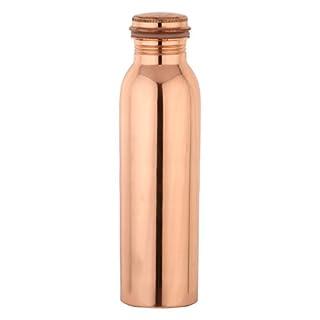 Zap Impex Reines Kupfer-Wasser-Flasche für Ayurvedic Health Benefits Joint Kostenlose Leak Proof