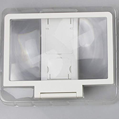 Heaviesk Handy-Vergrößerungsbildschirm-Objektiv 3D Bildschirm-Verstärker des faltenden Augen-Artefakts (Objektiv Verstärker)