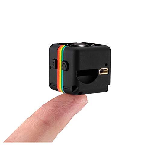 MUTANG Mini cámara de la acción HD DV cámara 1080P Cámara portátil de los Deportes Cámara minúscula con IR Visión Nocturna y detección de Movimiento