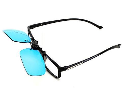PILESTONE TP-018 farbenblinde gläser Color Blind Korrekturbrillen Aufsteckgläser für Rot/Grün Color Blind - Mild, Moderate und Strong Deutan und Mild, Moderate Protan