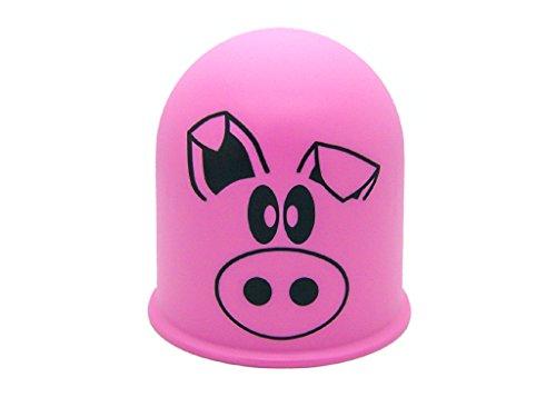 Schutzkappe Anhängerkupplung Abdeckkappe Bauernhof Tiere Schwein Pig Eber Sau