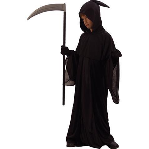 Reaper Grim Kostüme (Grim Reaper Jungen Halloween / Karnival Kostüm Größe XL 11-13 Jahr (EU)