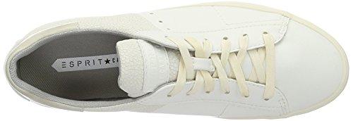 ESPRIT Damen Sita Lace Up Sneakers Weiß (100 White)