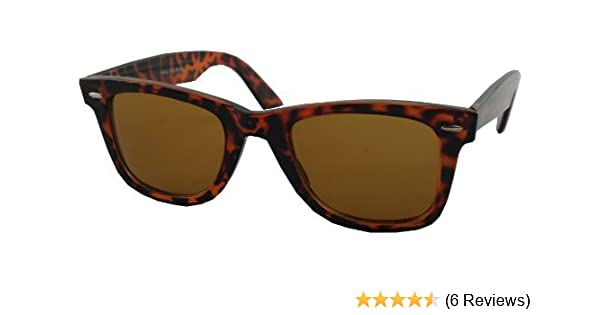 e57a9567ab Classic Tortoiseshell Wayfarer Sunglasses - Timeless  Amazon.co.uk  Clothing