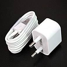 KELWORLD 8 Pin Lightning USB Fast Charging Data Sync Cable with Wall Charger USB Power Adapter for iPhone 5 5s 5c 6 6s 6+ 6s+ 7 7+ (White)
