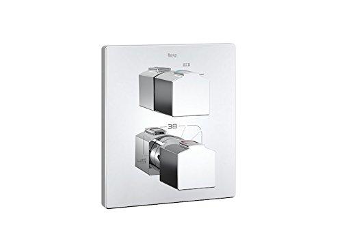 Roca L90 – grifo termostático empotrable para baño o ducha.a completar con rocabox 525869403 . Griferías hidrosanitarias Monomando. Ref. A5A1101C00