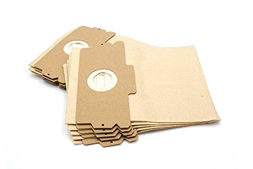 vhbw 10 Papier Staubsaugerbeutel Filtertüten Gr. 12/15 für AEG Electrolux Staubsauger Vampyr 500 600 1100 2000 5000 6000 Serie und Comfort 1100E