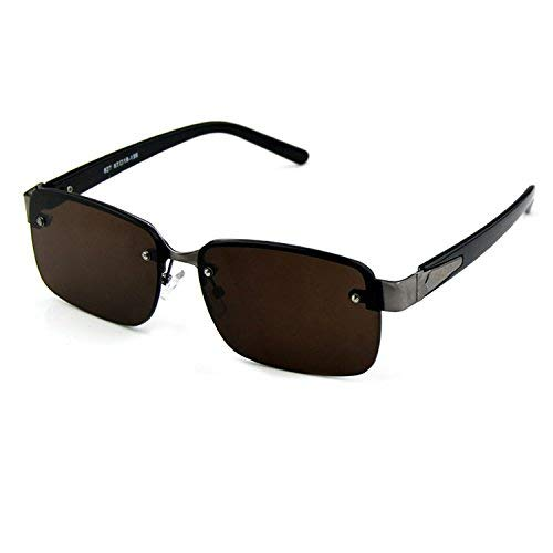 SCJ Natürliche Kristallgläser Mann die Rock-Sonnenbrille großer Kristall die Sonnenbrille treibt einen Spiegel an, der müde und frisch und cool Rock-Spiegel ist