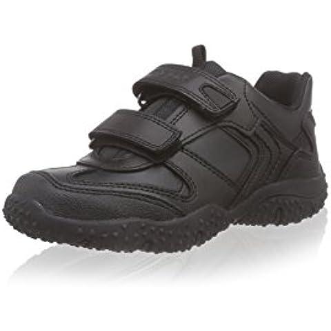 Zapatos de cordones para niño, color Negro , marca GEOX, modelo JR BALTIC BOY A